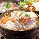 ブリの入った海鮮鍋